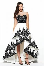 Black And Gold Lace Prom Dress 25 Best High Low Prom Dresses Ideas On Pinterest High Low