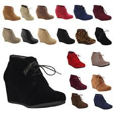 ebay womens ankle boots size 9 womens wedge booties oxford high heels ankle boots shoes