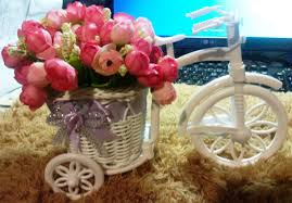 review and unboxing cloth artificial flower home decoration