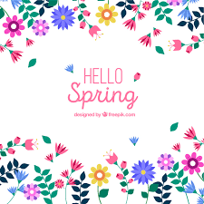 beautiful spring beautiful spring background vector free download