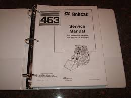 bobcat 463 skid steer loader shop repair service manual 6903711