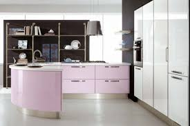 kitchen appliances two strawberries near small pink kitchen