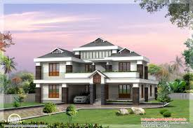 beautiful sloping roof villa kerala home design and floor plans