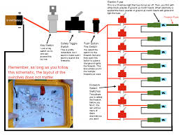 firework detonator wiring diagram