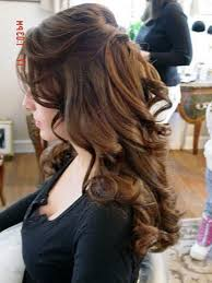 half up and down wedding hairstyles
