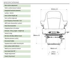 siege pneumatique basse frequence sears deluxe siège à air comprimé pour tracteur référence d5565a