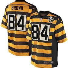 nfl lights out black jersey antonio brown men s elite lights out black jersey nike nfl
