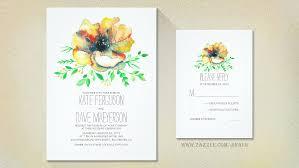 watercolor wedding invitations read more watercolor floral wedding invitations wedding