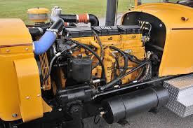 cat diesel power international truck and studebaker sedan are