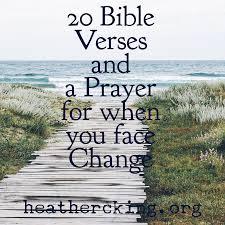 20 bible verses prayer handling change u2013 heather