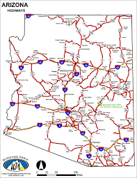 Chandler Arizona Map by Road Map Of Arizona My Blog