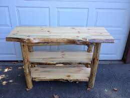 Rustic Sofa Table by Adirondack Furniture By Adk Rustic Interiors Specializing In Log