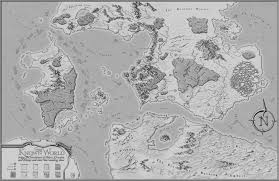 map world ro the known world rpg commission map by xianpryde on deviantart