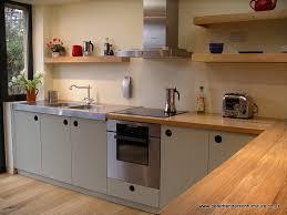 bespoke kitchen ideas handmade kitchen in oak with grey doors lots of