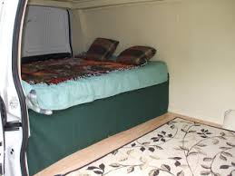 Jeep Bed Frame How To Add A Bed To Your Stealth Van Camper