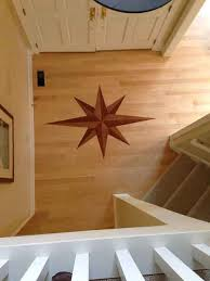 decorative hardwood floor medallion beers flooring annapolis md