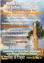 thanksgiving prayer to mother mary featured event ta pinu shrine australia