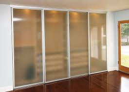 frosted glass closet doors sliding home design ideas