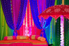 indian wedding decorations bold colors indian wedding