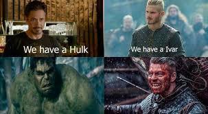 Vikings Meme - fear ivar the boneless vikings meme vikings pinterest viking