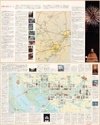 Chinese Map Of America by Large Scale Detailed Tourist Map Of Washington D C In Chinese