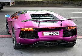 pink luxury cars images lamborghini aventador lp700 4 luxury violet auto back view