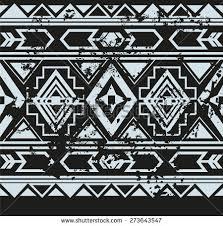 free aztec geometric seamless vector pattern free