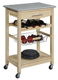 linon kitchen island linon home décor products 22 inch w granite top kitchen island cart