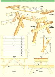 step 2 folding picnic table folding picnic table plans cvertible step 2 instructions free