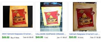 the most expensive valuable hallmark keepsake ornaments