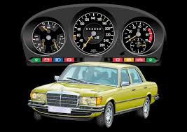 mercedes digital dashboard mercedes benz 450 sel 6 9 dash panel by exotic legends on deviantart