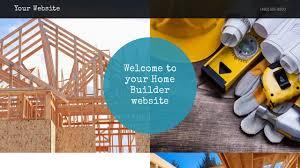 home builder website templates godaddy