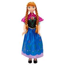 disney frozen size anna doll target