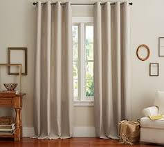 Wool Drapes Linen Curtains U0026 Linen Drapes Pottery Barn