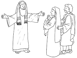 baby jesus coloring page http www cliparthut com clip arts 1644 simeon amp baby jesus