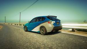 green subaru wrx original livery subaru wrx fast and furious 7 gta5 mods com