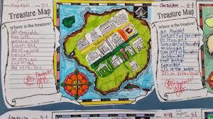 making treasure maps directions lesson project mrs baia u0027s