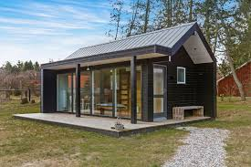 tiny modern home modern design small house bliss prefab simple cabin plans concrete