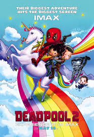 imax poster for deadpool 2 goes chibi with the x