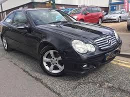 mercedes c180 komp 55 plate coupe manual alloys in hull east