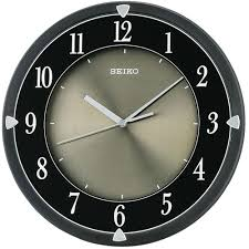silent wall clocks seiko lumibrite silent quiet sweep wall clock