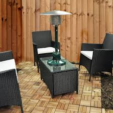 Table Top Patio Heaters by 4kw Table Top Patio Heater With Regulator Amazon Co Uk Garden
