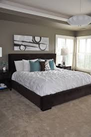 love this bedroom wall color mocha accent by behr for the home