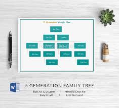 13 free family tree templates blank chart printable free
