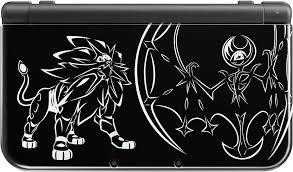 black friday new 3ds xl photos of the solgaleo lunala black edition new 3ds xl nintendo