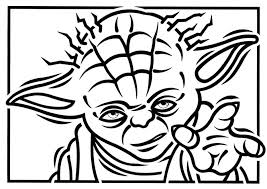 star wars yoda colouring pages coloring kids lego sheets star