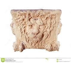 Face Planter Terra Cotta Lion Head Urn Stock Photos Image 35706003