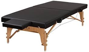 portable physical therapy table amazon com sierra comfort portable stretching table sits low to