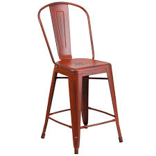 trademark home red folding stool m021000 the home depot