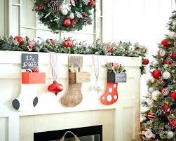decor decorative holder on a rustic mantel hangers